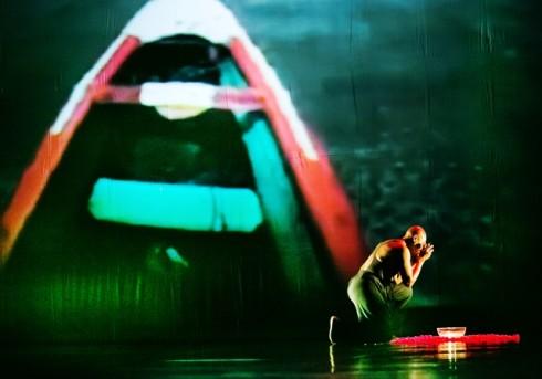 "Jant-BI šokio trupė/Germaine Acogny. ""Songook Yaakaar"" (chor. G.Acogny). Svetlanos Baturos nuotr."