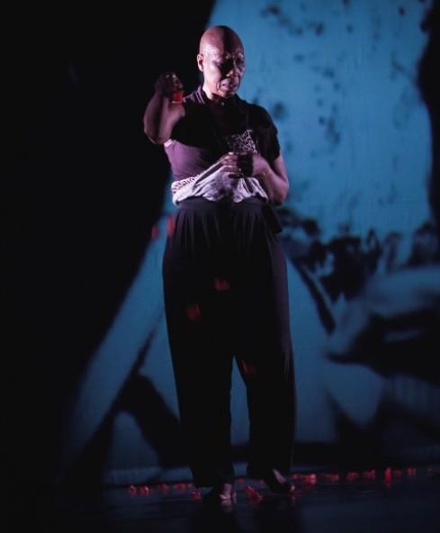 """Jant-BI šokio trupė/Germaine Acogny. """"Songook Yaakaar"""" (chor. G.Acogny). Donatos Kukytės nuotr."""