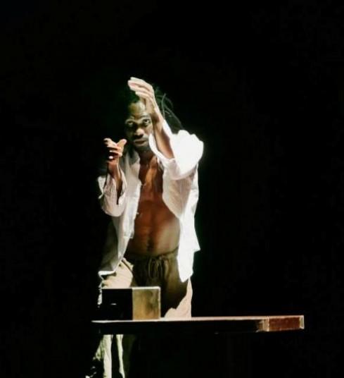 "Kingsley Odiaka. ""ašVIENIŠAS"" (chor. K.Odiaka). Svetlanos Baturos nuotr."