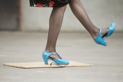 Tarptautinės šokio mugės Tanzmesse NRW akimirkos. Nuotr. Dmitrijus Matvejevas.