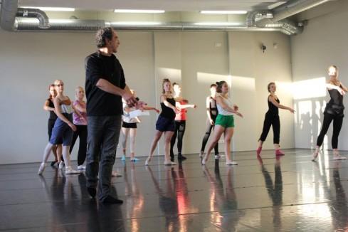 Bruce'o Michelsono baletas - be mechanikos. Gabrielės Banytės nuotrauka