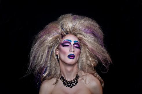 Povilas Bastys. Miss Plastica drag queen