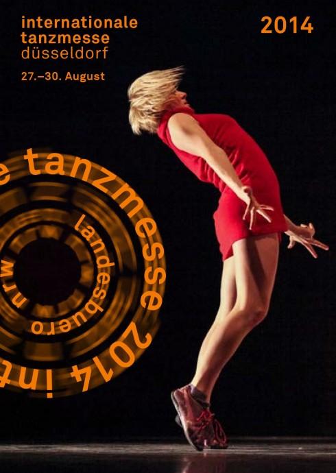 Oficialus 2014 m. tarptautinės Diuseldorfo šokio mugės plakas su lietuve Ugne Dievaityte